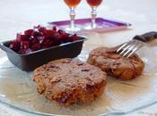 Steaks d'haricots rouges semoule maïs/sarrasin (Vegan)