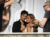 Photos shooting Somerhalder pour Azzaro