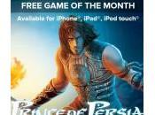 Prince Persia Shadow Flame gratuit mois l'App Store