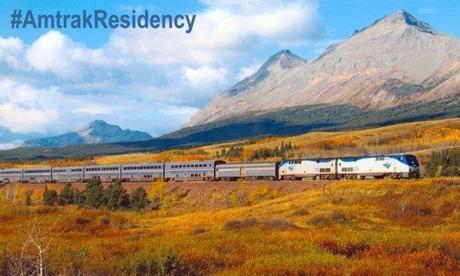 Amtrak offre des voyages en train aux écrivains américains. A quand en France ? #SNCF