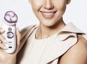 Jessica Alba, nouvelle égérie marque Braun.