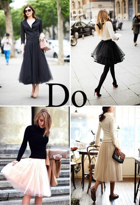 La jupe en tulle et le tutu une tendance printemps 2014 qui rend hommage à la féminité !