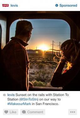 exemple de publicité Instagram