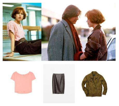Habille-toi comme Molly Ringwald!