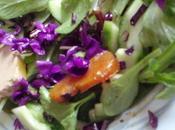 L'or ocre avec violettes boutargue)
