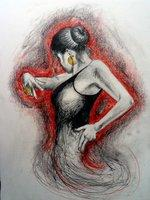 Flamenco Dancer by scoteyeart