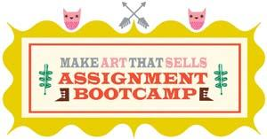 Lilla Rogers Make Art That Sells Bootcamp - Mois 1