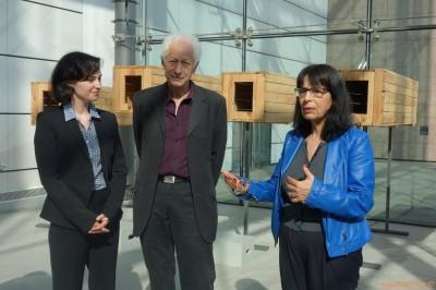 Robert Cahen, Héloïse Conésa, Joëlle Pijaudier-cabot