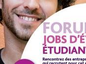 Forum dédié jobs d'été, avril 2014