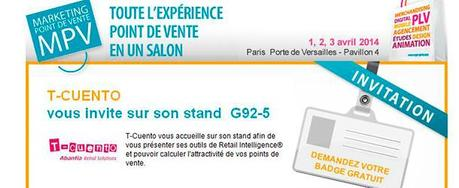 A noter dans vos agendas, le rendez-vous du Marketing Point de Vente #MPV2014