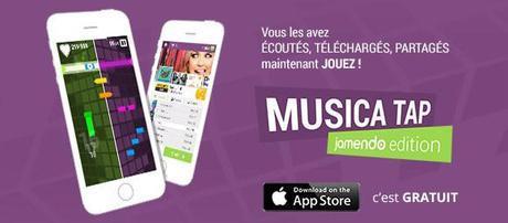 Nouveau jeu musical gratuit : Musica Tap sur iPhone et iPad