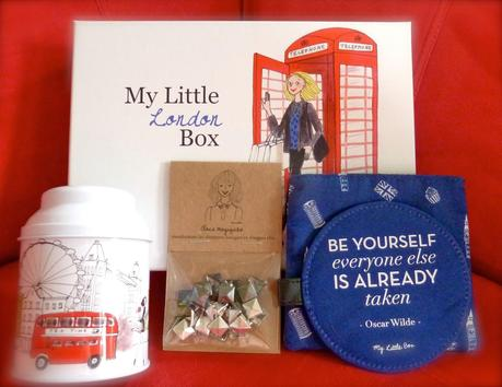 My Little LONDON Box - Mars 2014