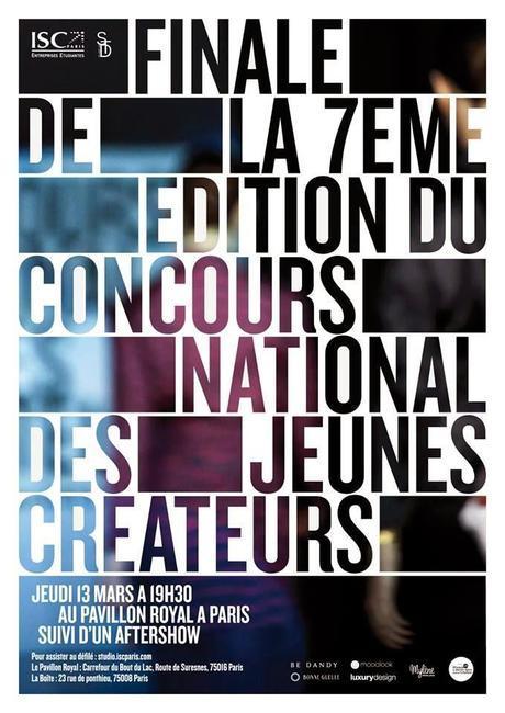 Be Dandy présente l'identité du Concours National des Jeunes Créateurs