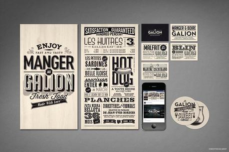 Be Dandy présente le branding du bar Le Galion