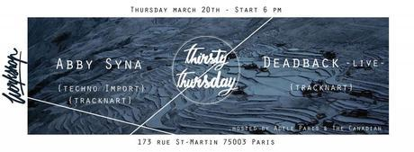 Thirsty Thursday 02 au Workshop