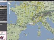 Flightradar24 Carte monde vols d'avions temps réel
