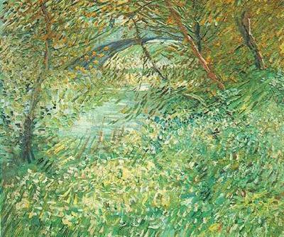 Berges de la Seine au Printemps Van Gogh