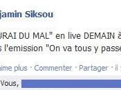 "Benjamin Siksou live demain dans tous passer"" France Inter"