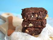 Brownies ultra-gourmands chocolat, noix coco Sans lactose sans gluten