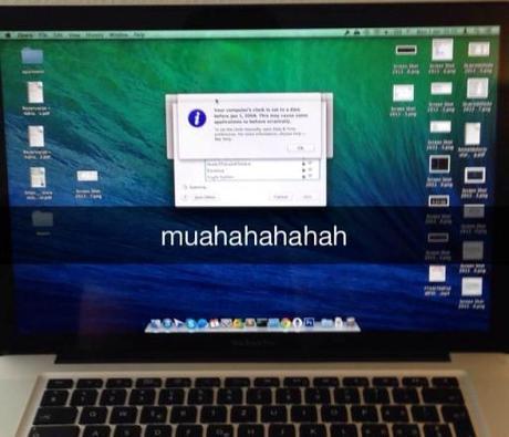 ecranbleu macbook pro Corriger lécran bleu d'un MacBook pro en le mettant au four ?