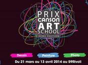 Evénement Edition prix CANSON® SCHOOL lauréats enfin dévoilés exposés 59RIVOLI, jusqu'au avril