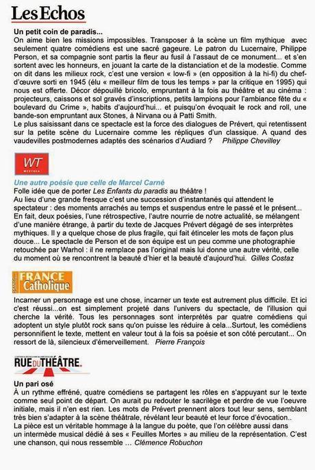Mon blog chute de quelques étages et pourtant.... ah vivement dimanche les vacances la retraite??? dimanche on y est, cinema theâtre TV radio comme d'habitude : Zero Dark Thirty : CO, Western : Le grand silence -Sur Canal + Mauvaise fille avec Bob Geld...