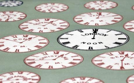 Clocks - © Jenny Rollo