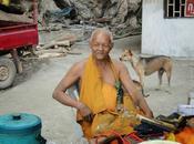 Thaïlande: Moines, route (Photos)