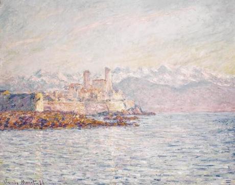 Monet, Antibes, 1888,