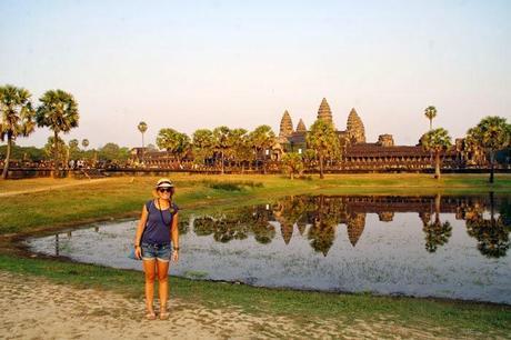 Les temples d'Angkor à vélo