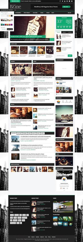 BZine WordPress Theme
