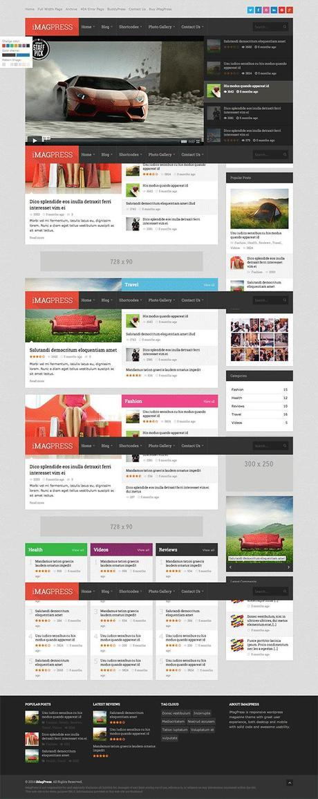 iMagPress WordPress Theme