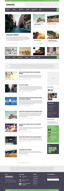 Grimag WordPress Thème