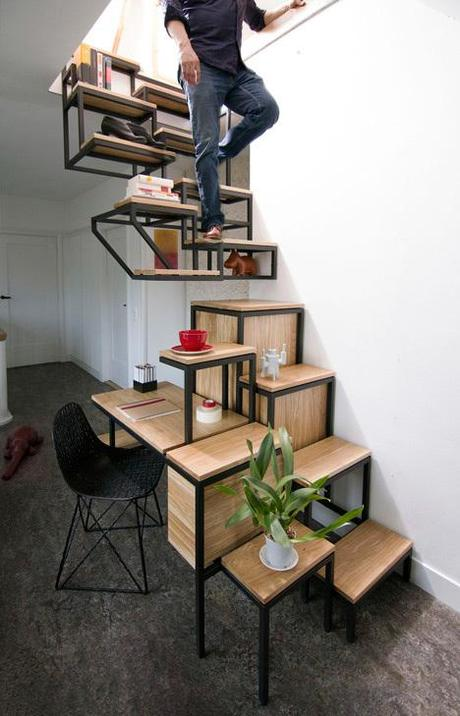 Suspended-staircase-combined-with-desk-and-storage-space-by-Mieke
