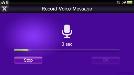 record voice vita La PS Vita passe en version 3.10  sony ps vita playstation 3.10