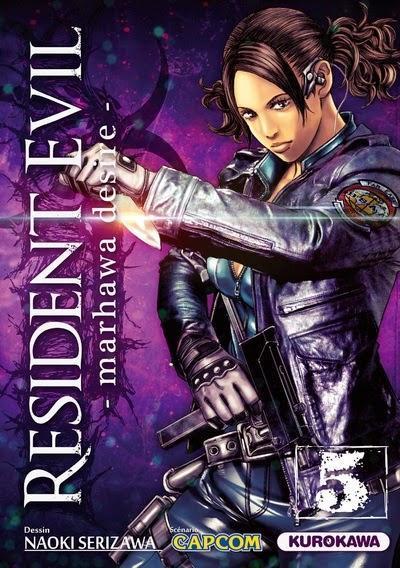 Manga: Resident Evil Marhawa Desire Tome 5