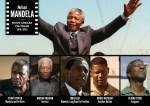 Nelson Mandela a été incarné par Sydney Poitier, Morgan Freeman et Idris Elba