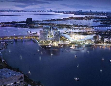 David Beckham veut un stade à 200 millions d'euros sur le port de Miami