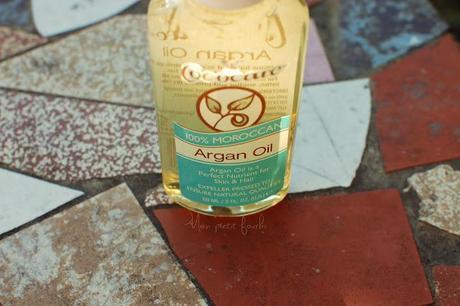 Présentation Huile d'Argan Cococare (Argan Oil 100% Moroccan)
