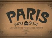 photos Paris 1900 fondent dans présent