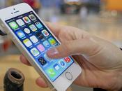 Apple l'iPhone deux exemplaires taille différente