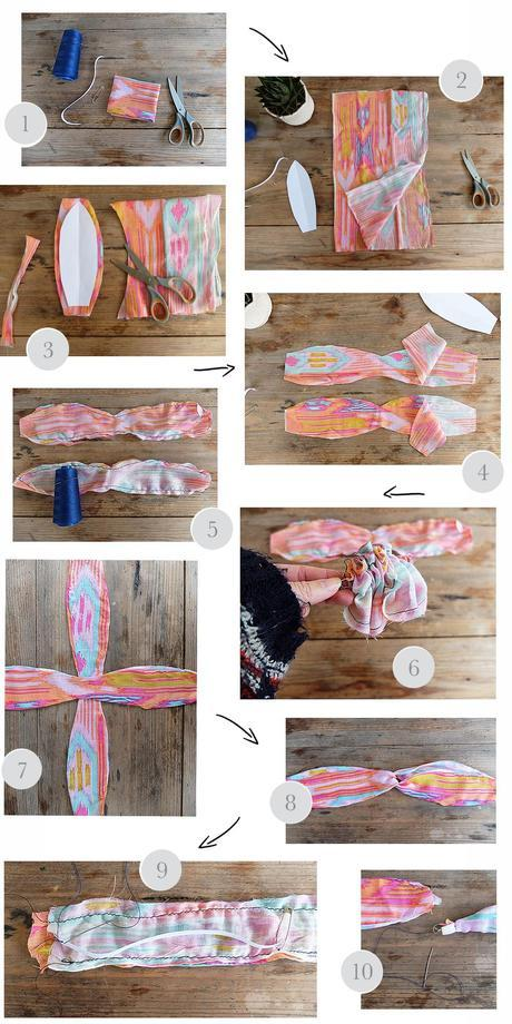 Dreamy travel box DIY Boho Headband tuto