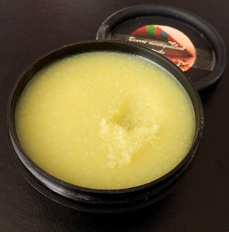 Beurre démaquillant à la pistache