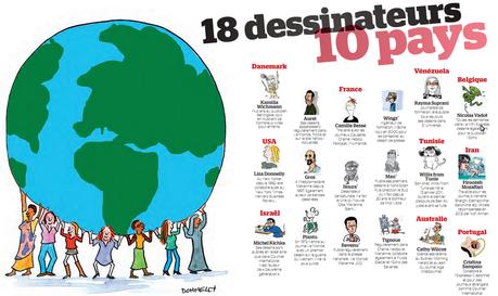 18 dessinateurs