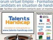 Recrutement salon Talents Handicap mars avril