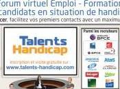 Recrutement salon Talents Handicap mars avril