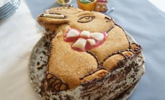 Gâteau Lapin chantilly