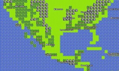 Google 8bit maps