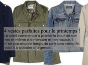 vestes parfaites pour printemps