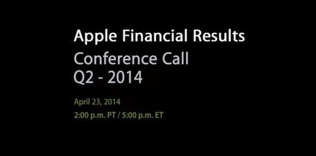 Apple resultats financiers Q2 2014